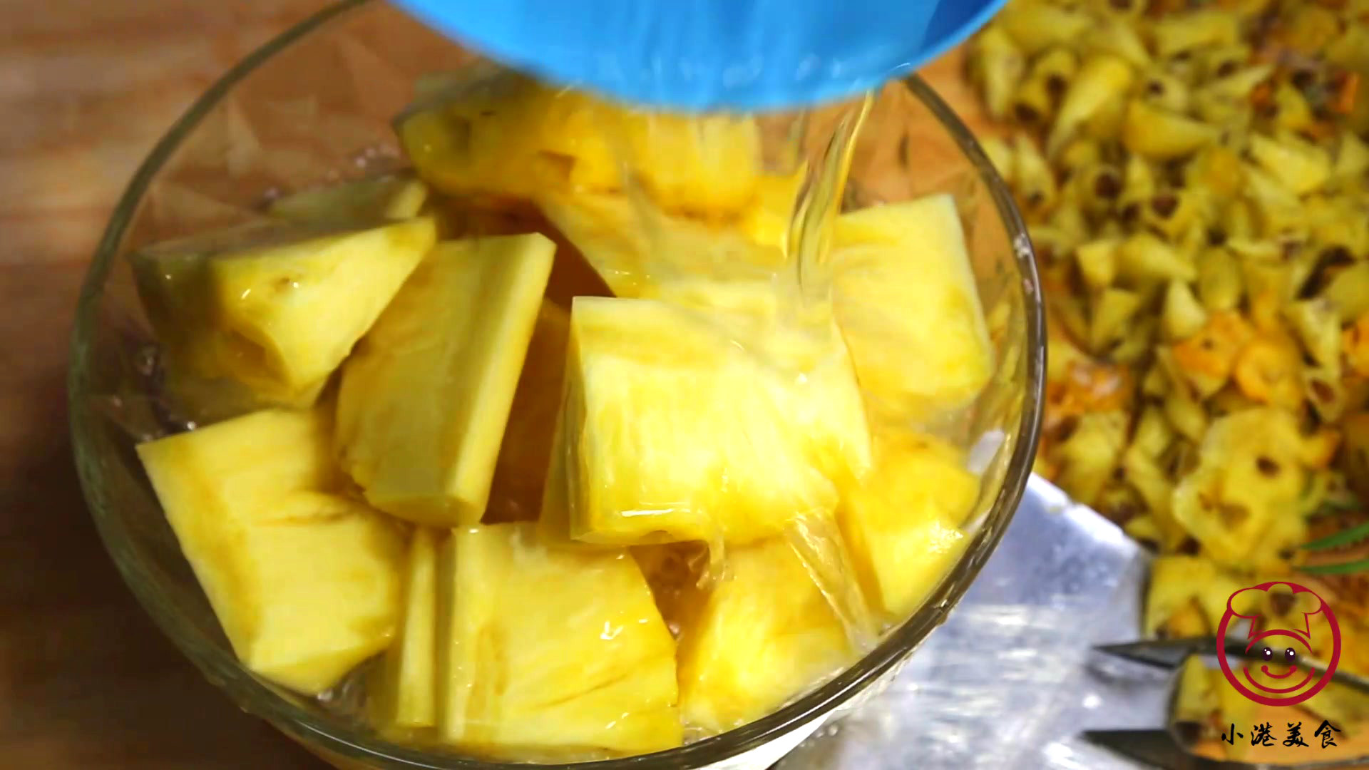 菠萝在家里怎么削皮(削菠萝有几种方法呢)插图(9)