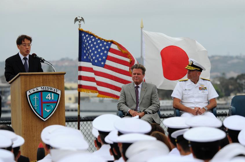 日本成中美对抗前线?安倍污蔑中国威胁周边,望美日同盟打压中国