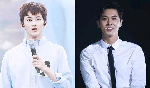 SM长得像的20组前后辈成韩国论坛热议,原来传说中的SM长相早就有