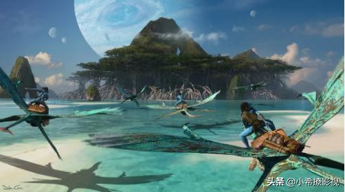 """《阿凡达2》官方分享新剧照,演员出现在一个巨大的""""球池""""中"""