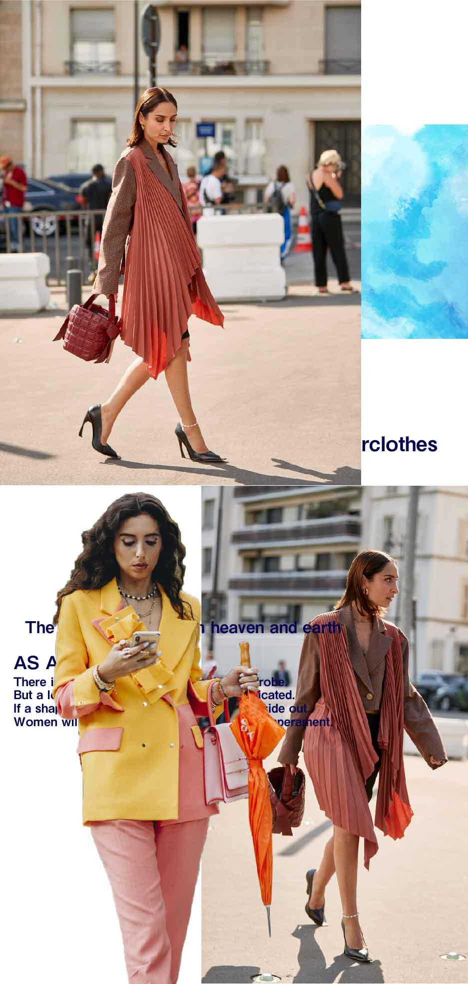 总穿基础款会腻,设计感西装个性又洋气,让你成为最时髦的打工人