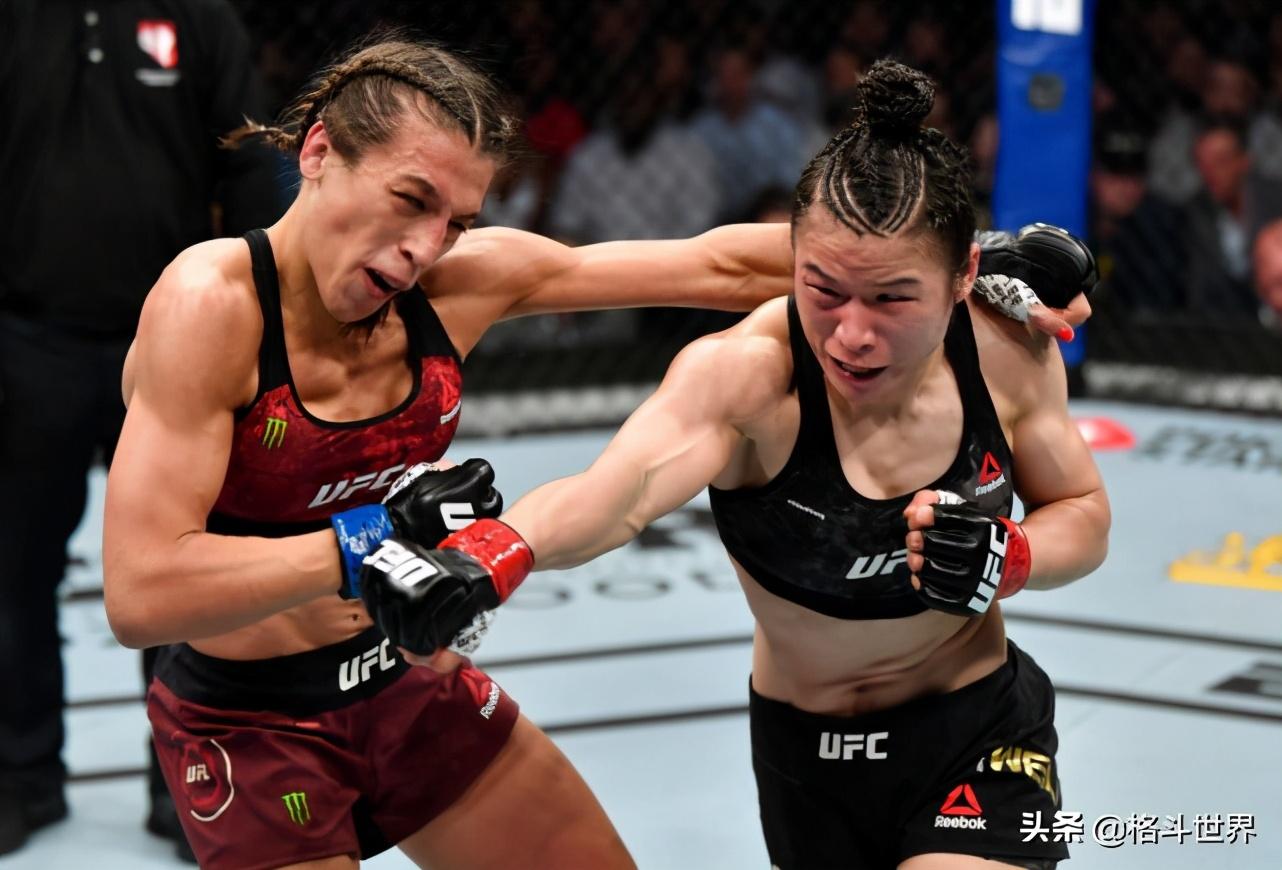 """2021年1月,张伟丽将出战UFC257,对战""""玫瑰刺客""""罗斯"""