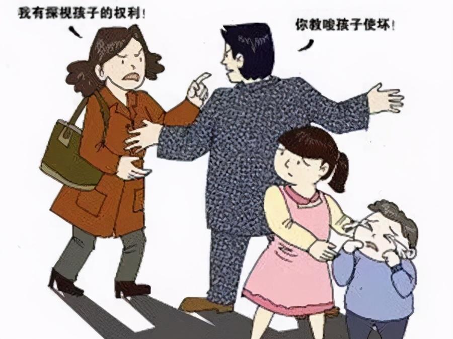母亲行使探望权被阻,将前夫告上法庭,法院这么判...
