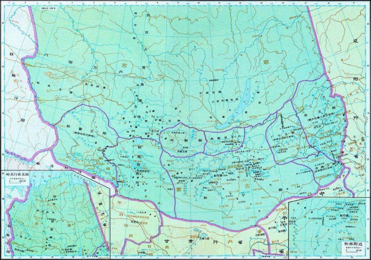 元朝领土到底有多大?最北真的到北冰洋了吗?