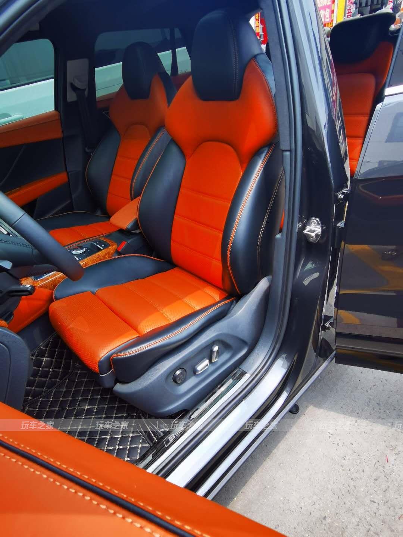 奥迪Q2全车内饰炫酷改装升级 让时尚与运动感同在
