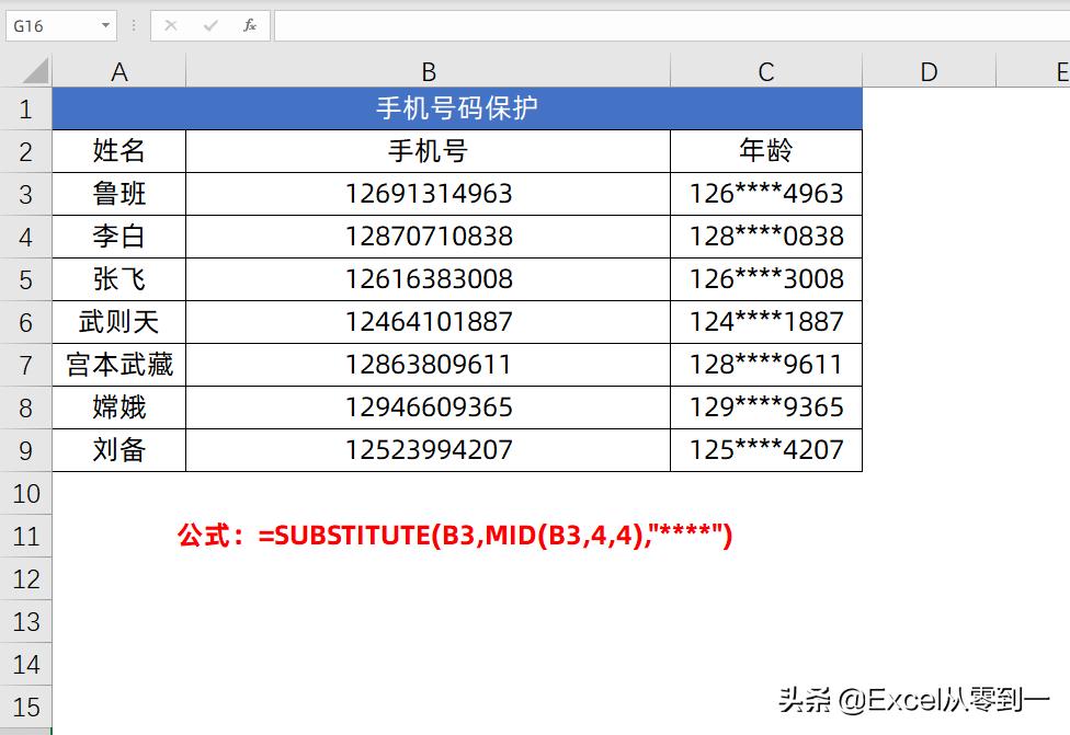12组Excel函数公式,可直接套用,小白也能变大神