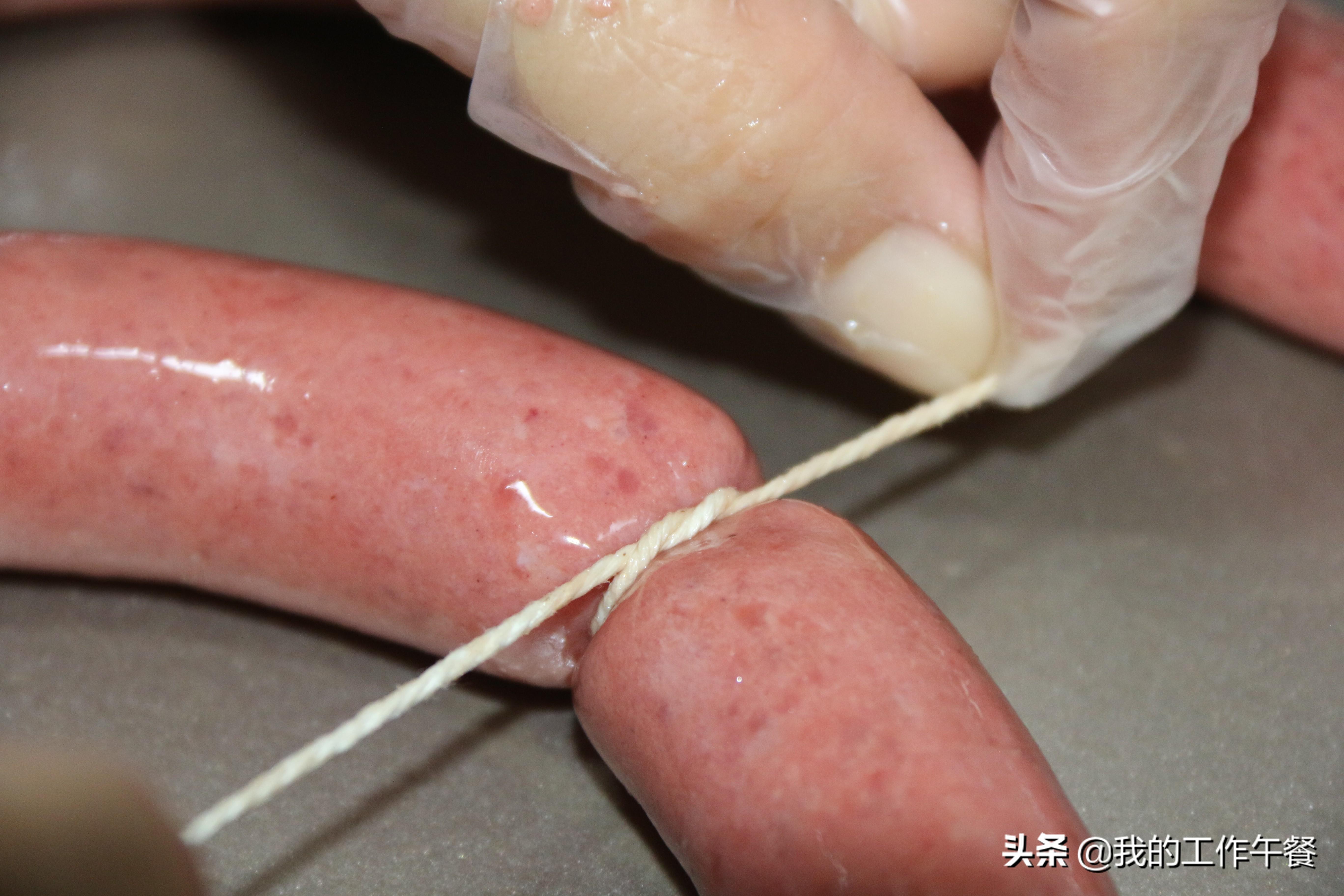 孩子大愛的脆皮腸,方法簡單易學,皮脆Q彈,比臘肉臘腸香