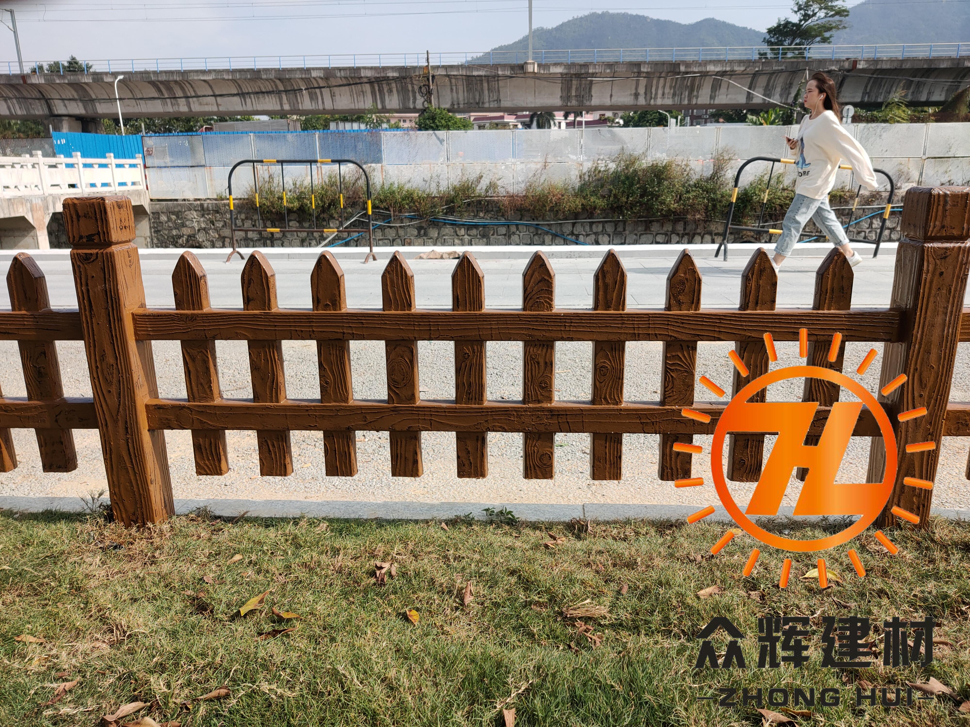水泥仿木护栏哪家好?众辉建材做客户信任的匠心品牌