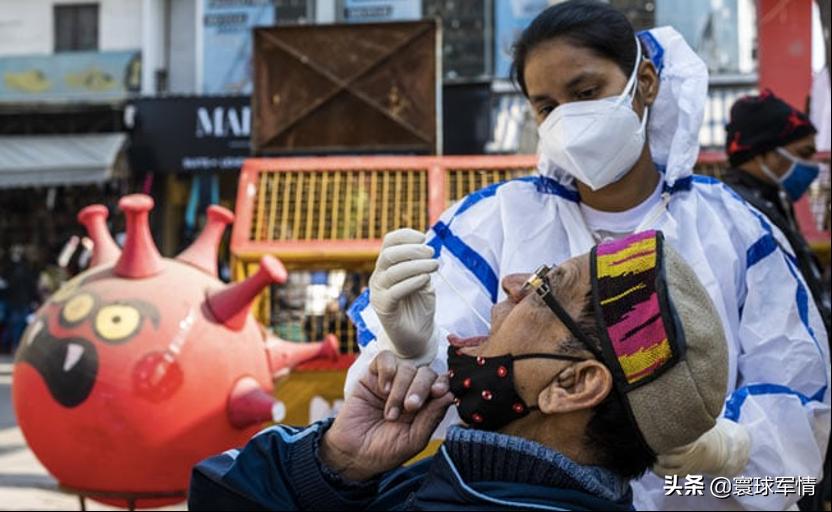 印度各地发现240种变异新冠病毒