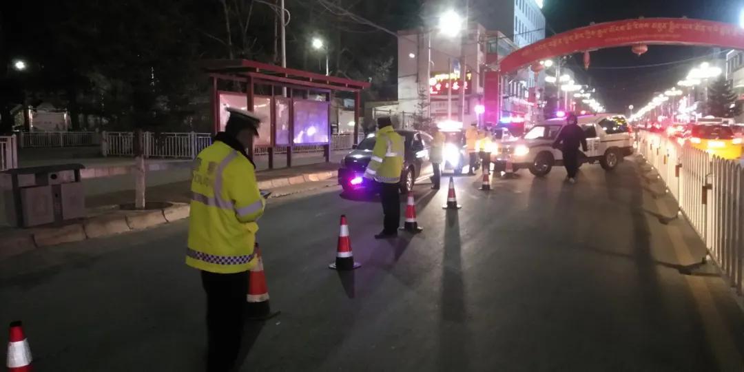 「海南交警・护航春运」开展春运前夜间集中清查整治行动