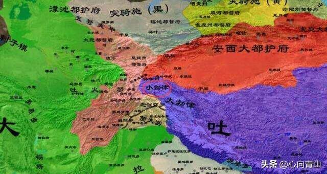 大唐、阿拉伯、吐蕃在中亚的争霸战,其关键在于对突厥人的控制