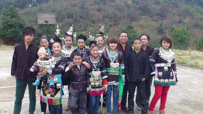 侗族姑娘(阿香本名张国丹)回到大山抢救侗歌文化