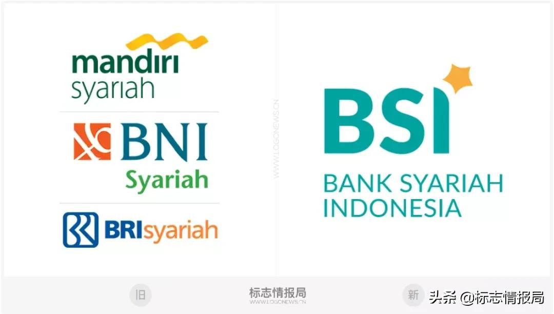 三家印尼银行合并成BSI银行,新LOGO发布