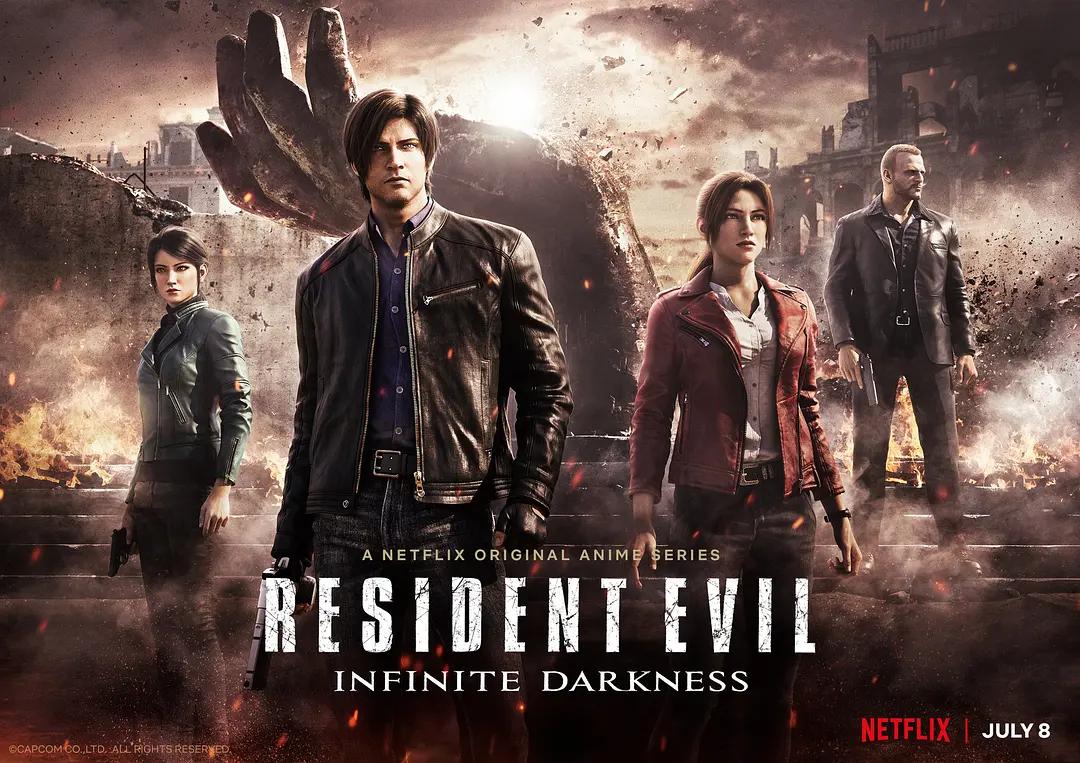 "Netflix的""生化危机""动画电影发布正式预告,恐怖蔓延……"