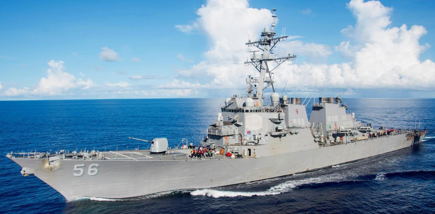 """打着""""航行自由""""旗号,美舰闯入南沙近海,南部战区组织兵力驱离"""
