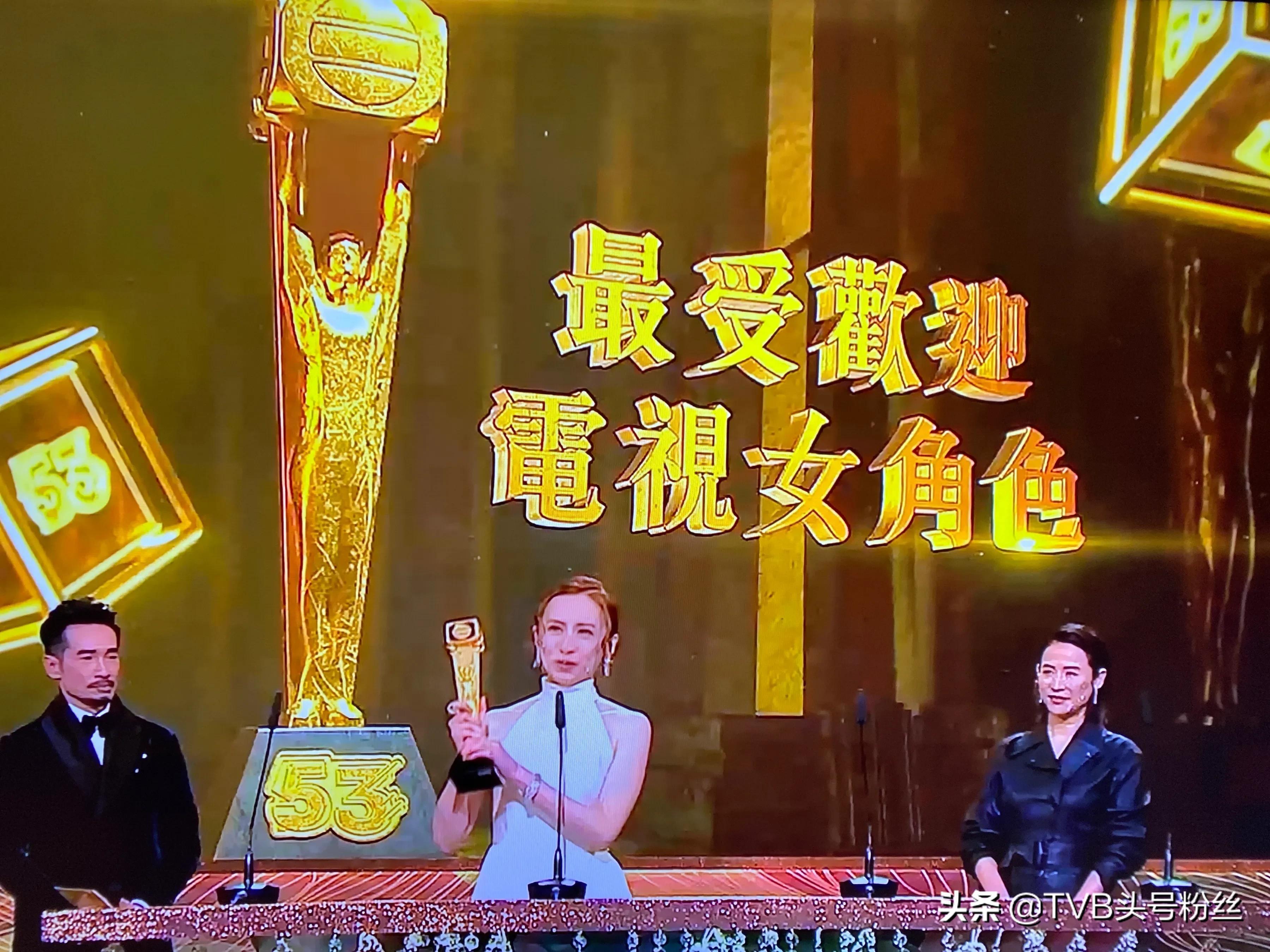2020TVB万千星辉颁奖礼完美落幕,这个赛果你服不服?
