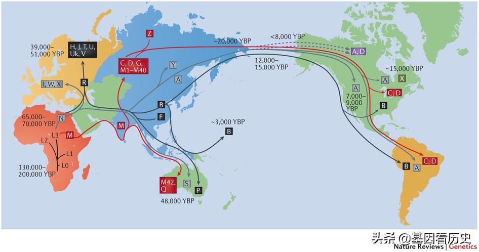 中国人祖先起源与迁徙史