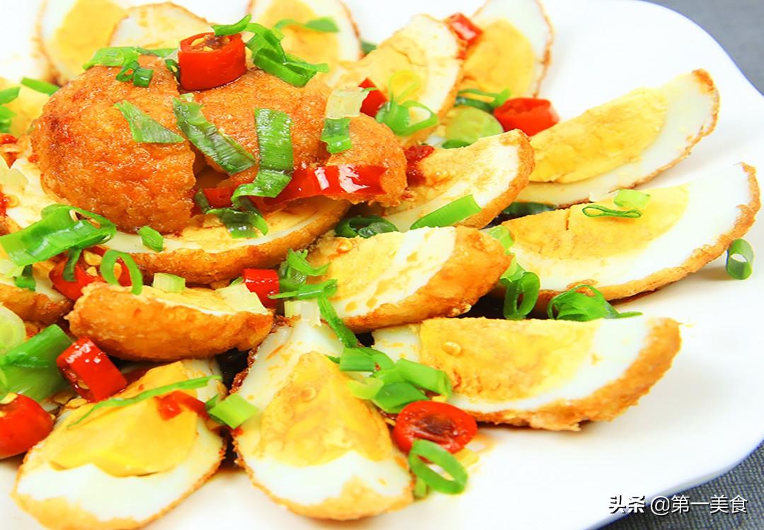 【虎皮鸡蛋】做法步骤图 厨师长分享小技巧 鸡蛋香酥入味