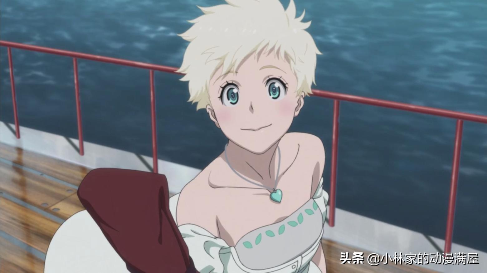 又是白毛少女?新番女主落難成為娼婦,被救後成為了女海賊王