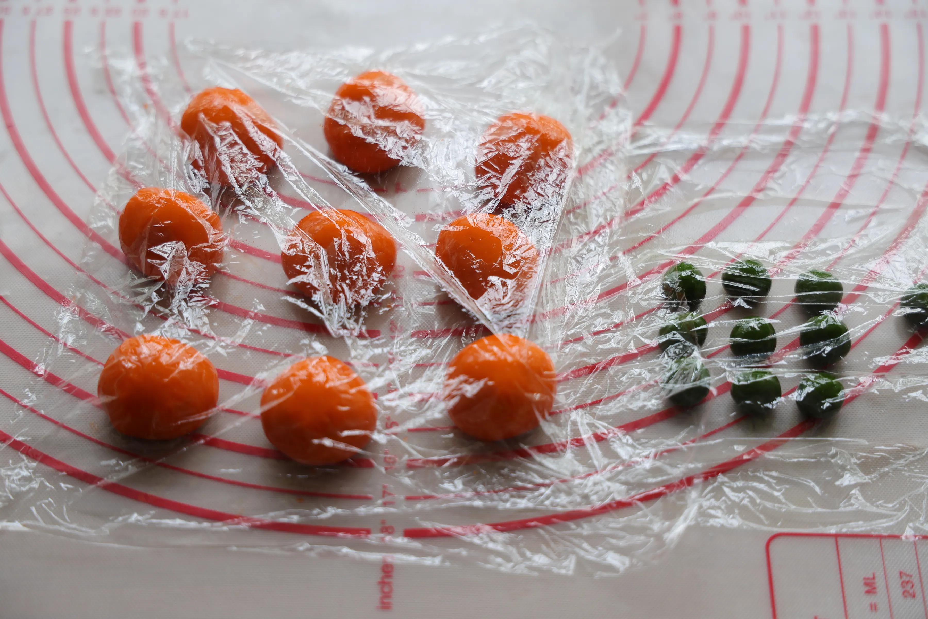 """今年大火的柿子月饼,寓意好""""柿""""发生,好吃好看,送人倍有面子"""