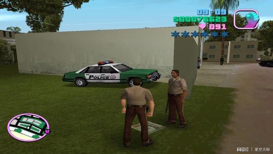 罪恶都市,在犯罪的时候,那些警察广播在说什么?