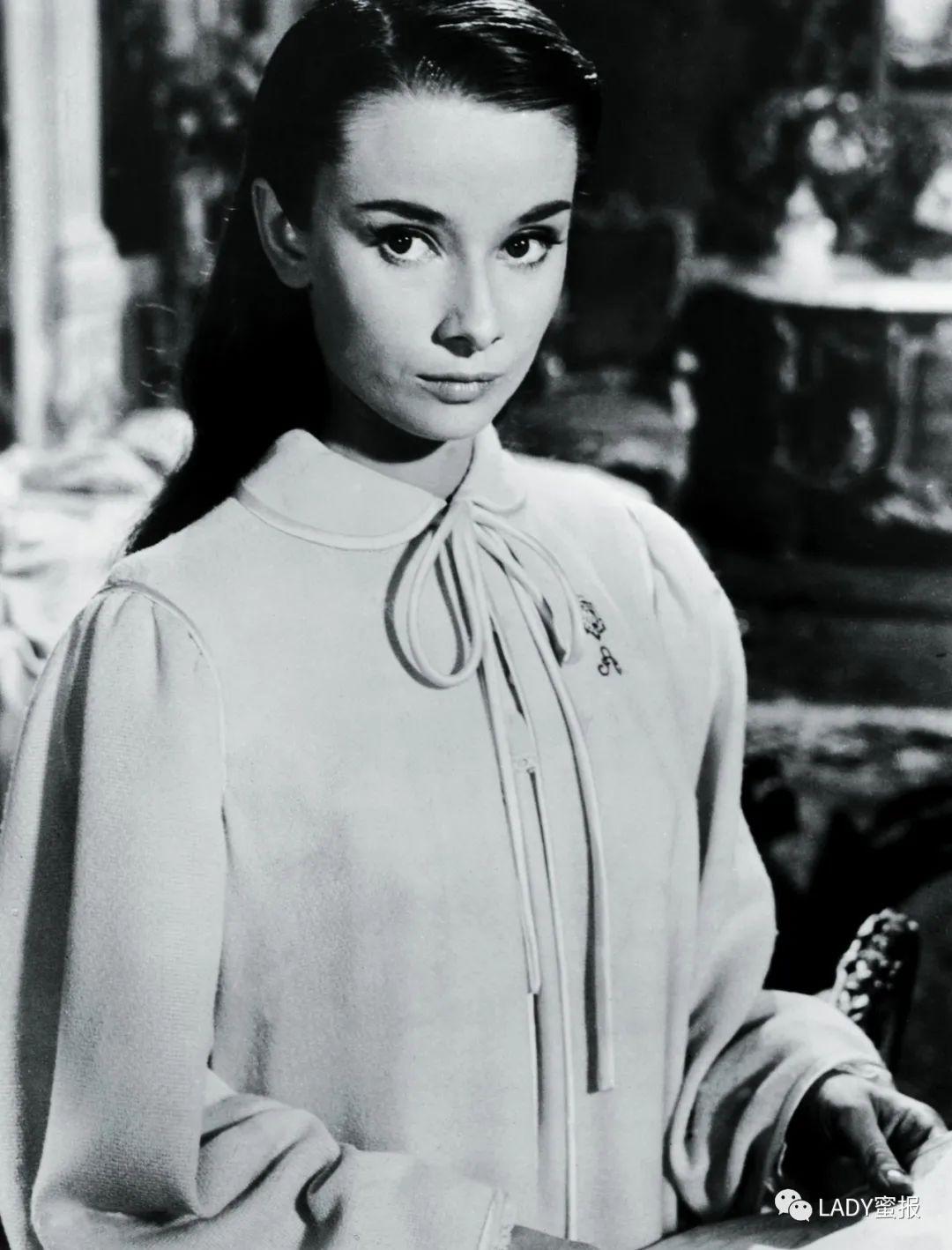 不可替代的优雅女神,奥黛丽·赫本:落入凡间的天使