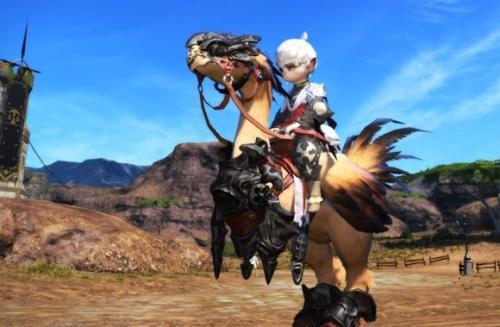 盘点最终幻想14里萌新也能轻松获得的可爱坐骑