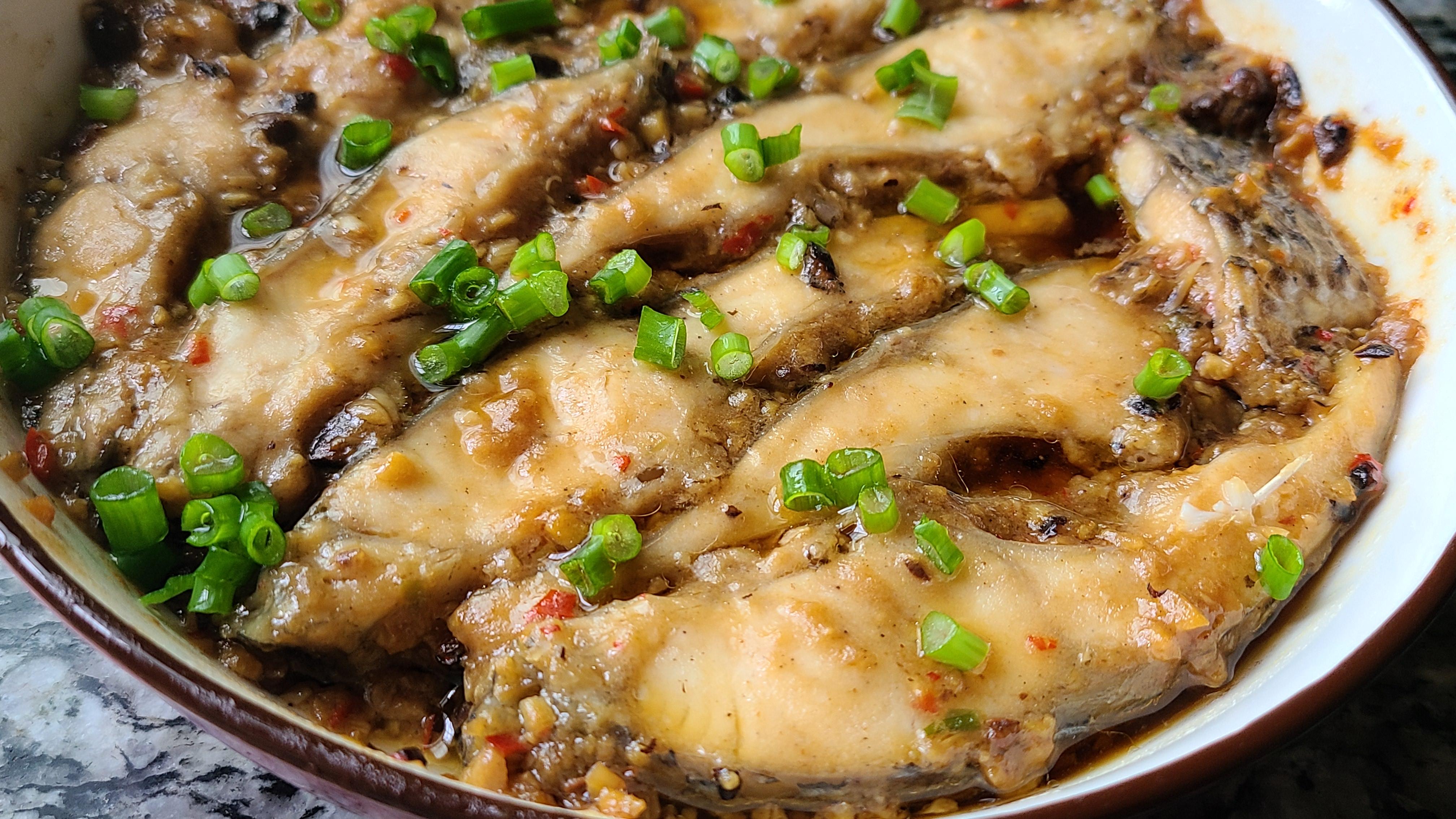 豆豉蒸魚,又香又好吃的一道美味家常菜,看著直流口水