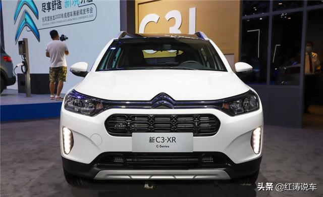 雪铁龙C3-XR新增潮享版,11.89万元很个性,底盘质感好过本田XR-V