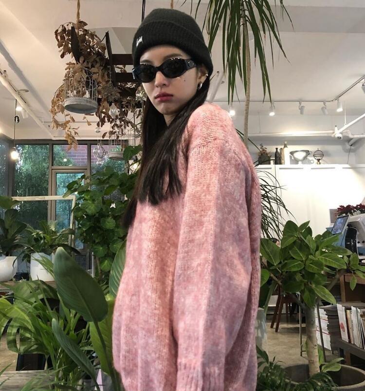 韩国ins时尚博主michaela_j.y 又美又飒的酷盖风格