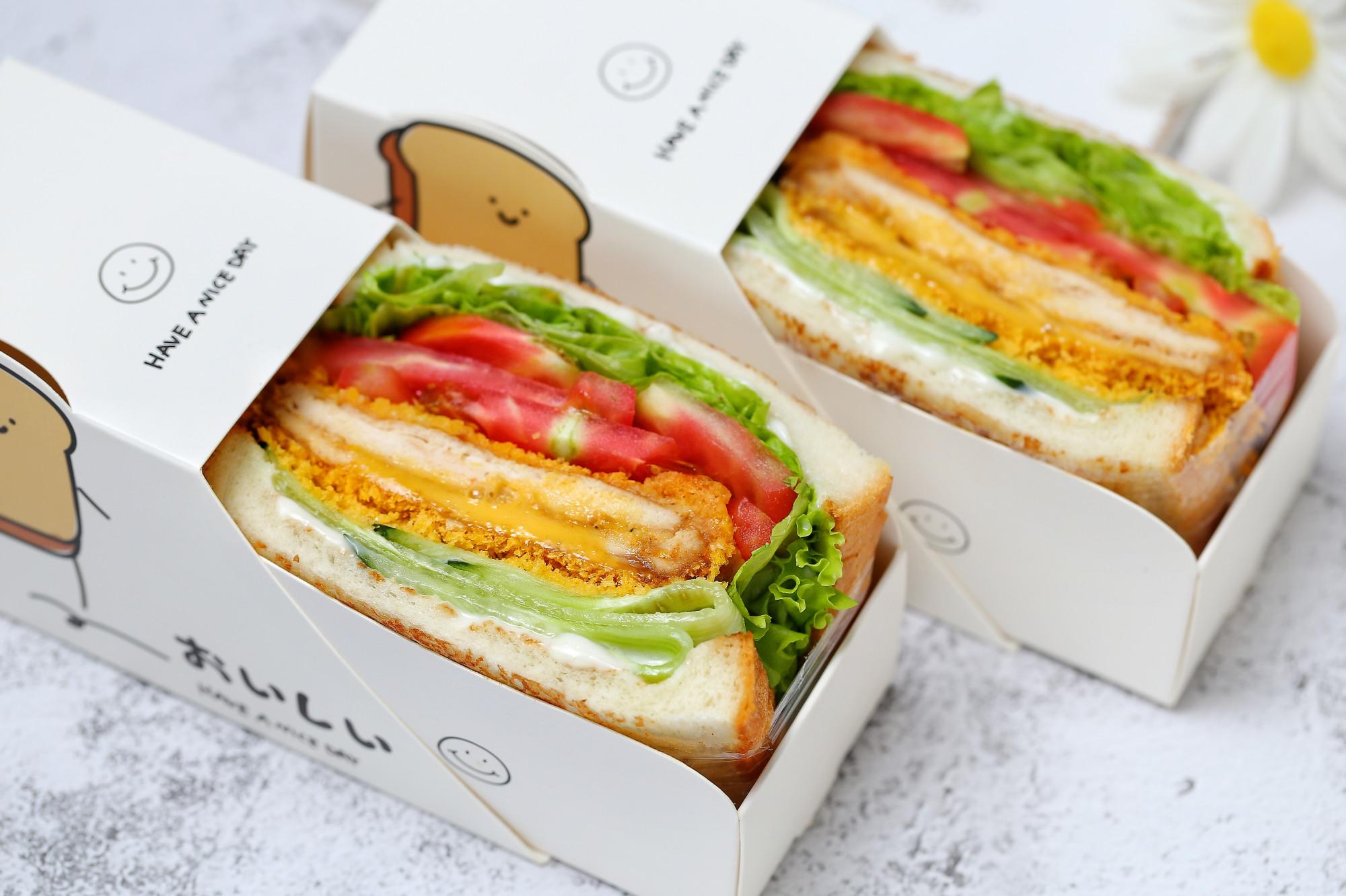 自制无油爆浆鸡排三明治,干净卫生比外卖健康,少花钱吃得还过瘾 美食做法 第1张