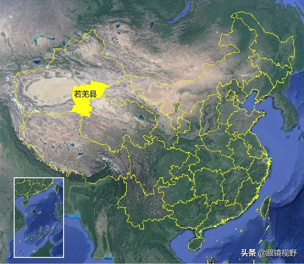 地理趣知识:中国第一大县——若羌,面积超过23个省份,但不包邮