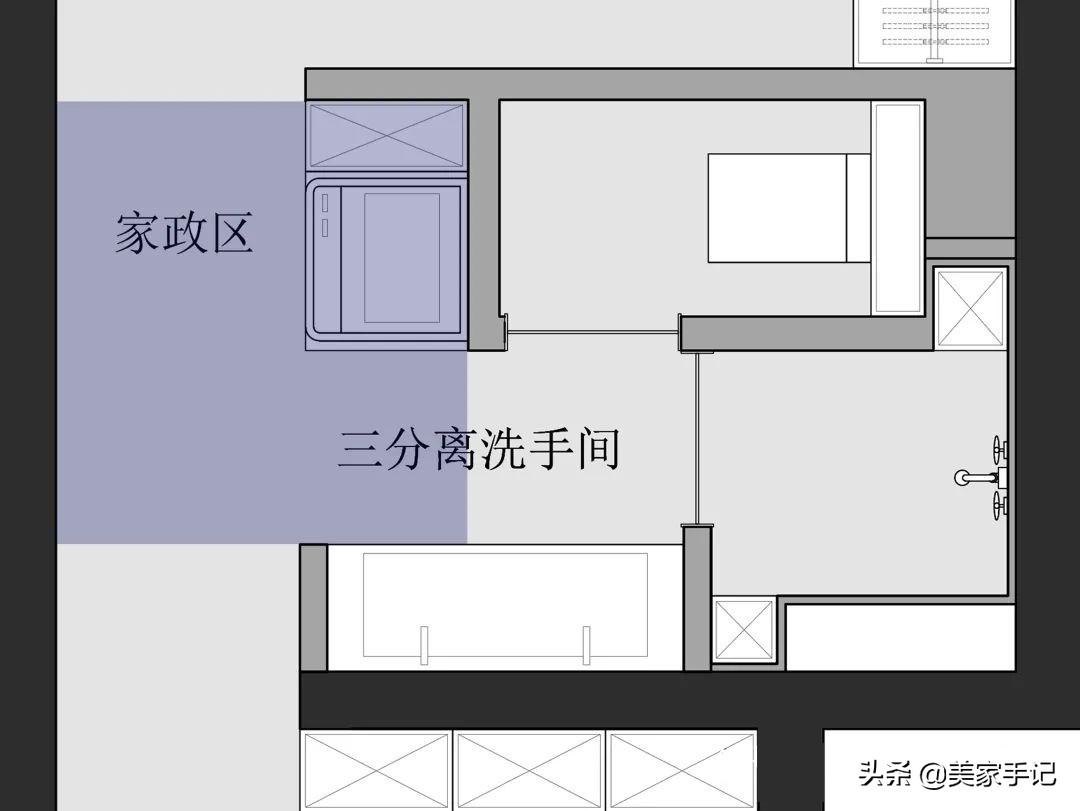 不買沙發、茶几,餐廳改臥室,80㎡兩居竟住下三代六口人,厲害