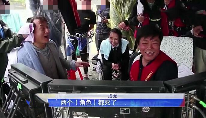 66岁成龙拍戏险溺亡,消失水面45秒!导演唐季礼急到哭出来