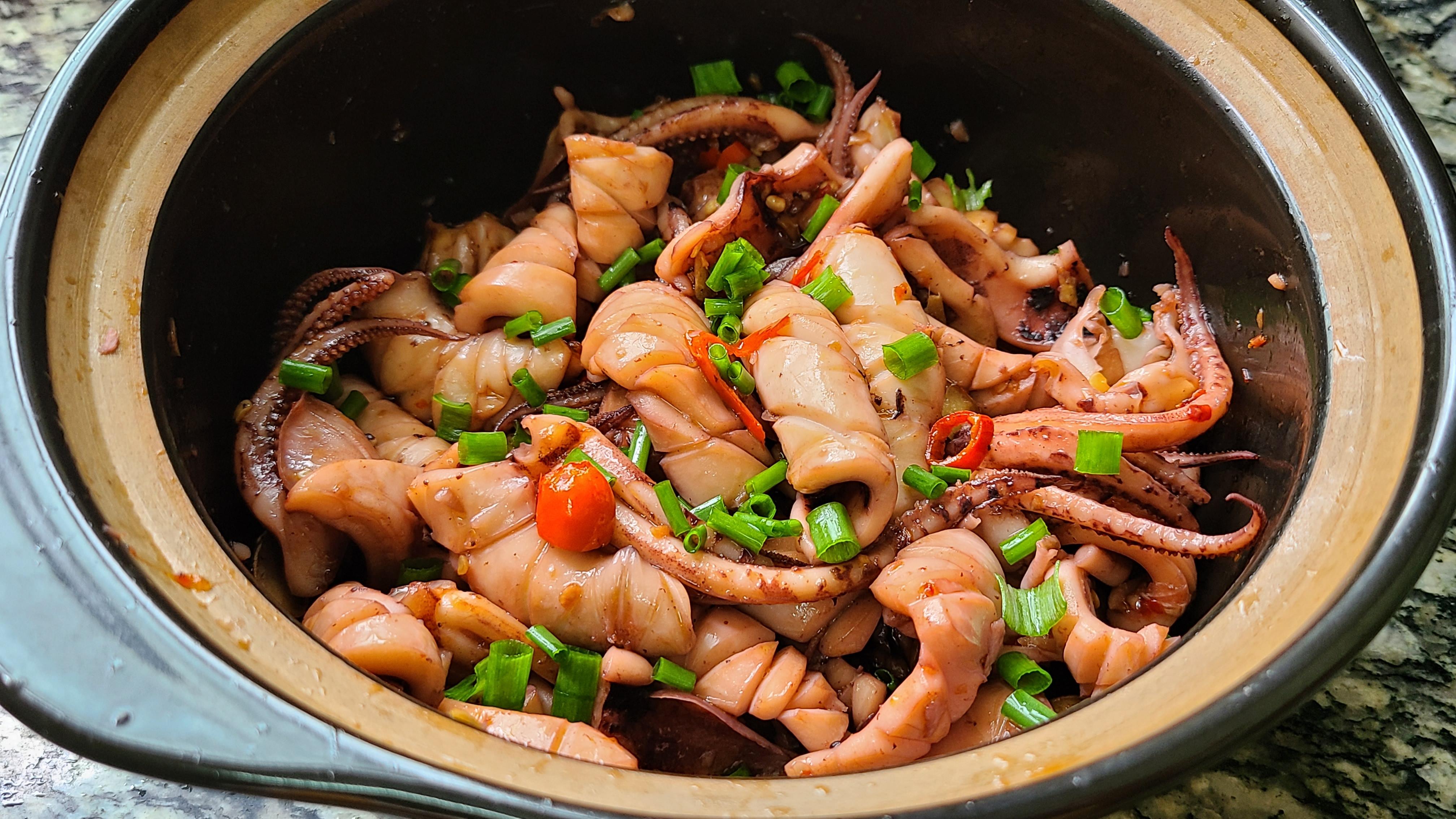 魷魚的家常做法,味道鮮美又好吃,出鍋香噴噴的看著就饞