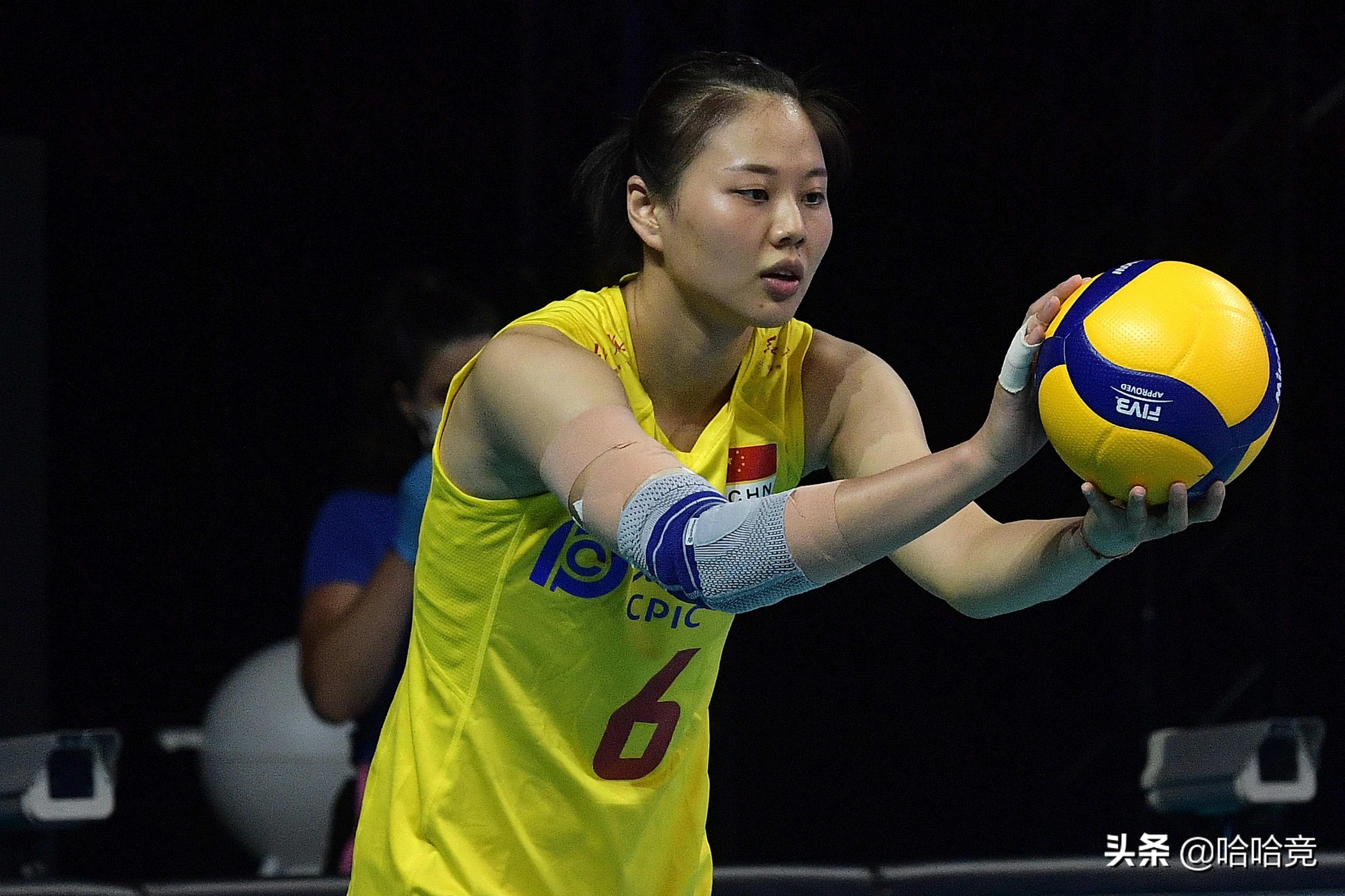 朱婷两局得到10分,全主力中国女排3比0横扫荷兰,夺世联赛第5胜