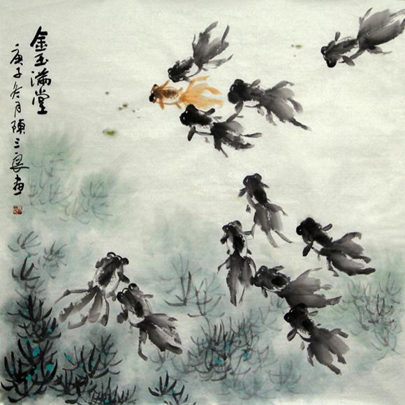 翰墨飘香书画情——陈崀