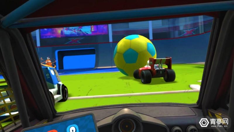 支持4人联机和多种玩法、模式,VR版《极速飞车》登陆Quest