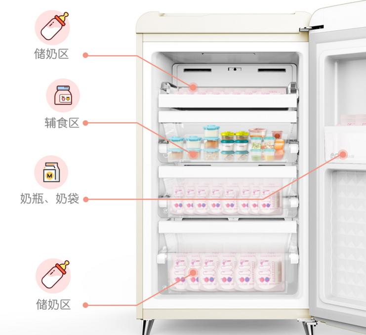 宝妈们的储奶神器——小吉母婴冰箱