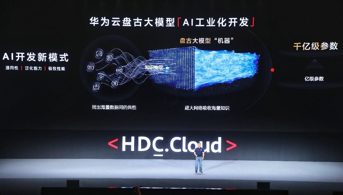 华为云发布盘古系列超大预训练模型,开启工业化AI开发新模式