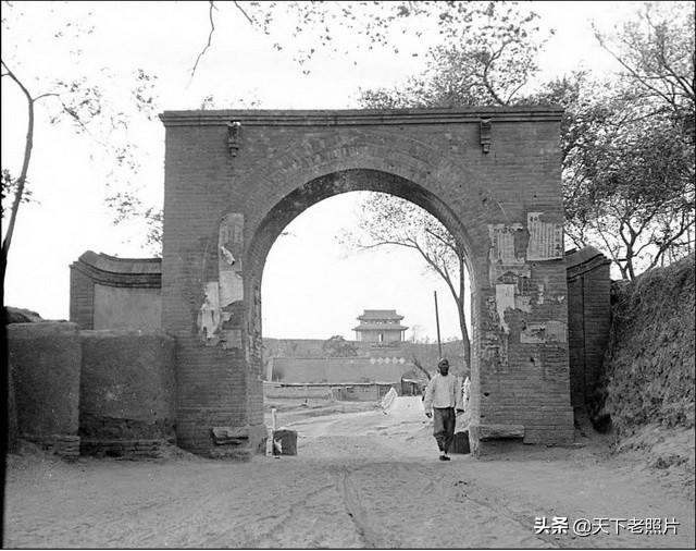 1932年河北定县老照片 90年前定州城市风貌一览