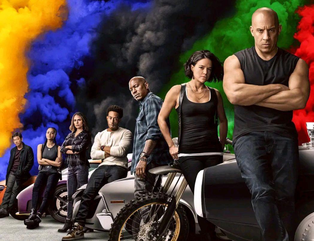 """《速度与激情9》即将上映,""""飙车上太空""""观众直呼过瘾"""