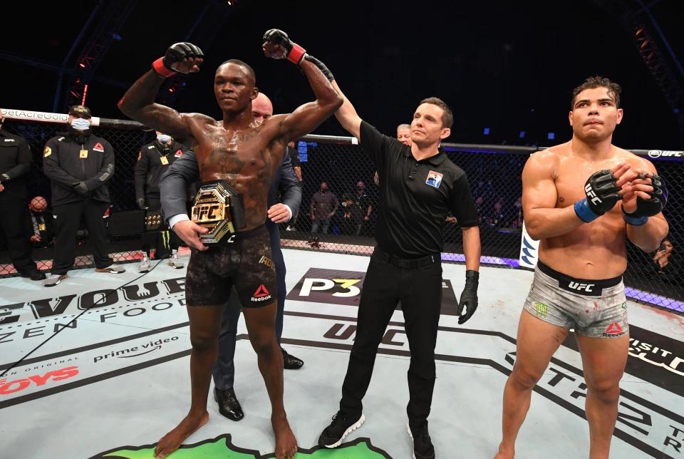 阿迪萨亚一路追杀骨头到轻重量级,勇气远超小鹰,望成UFC天王