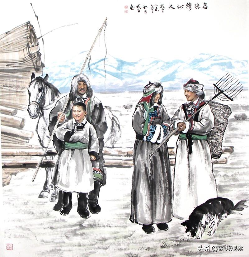 《时代复兴 沧桑百年》全国优秀艺术名家作品展——张武昌