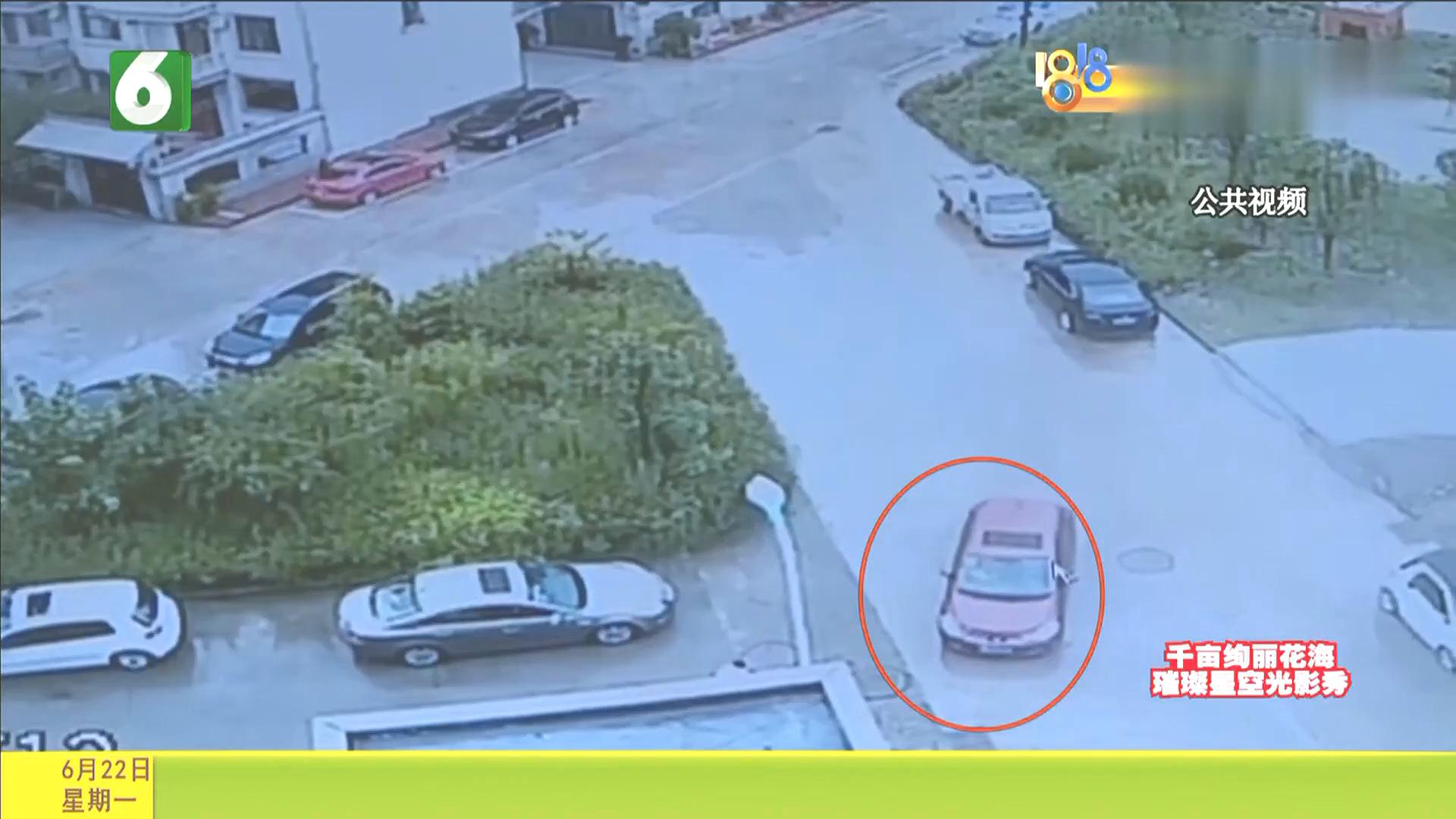 男孩被卷入车底,众人抬车救援,只用18秒