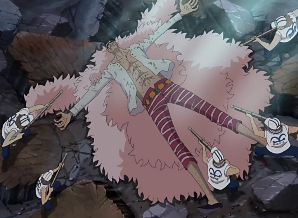 海賊王:路飛為何喜歡攻擊人的下巴?老沙輸得冤,凱多被放倒