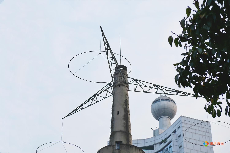 魅力渝中:亚洲第一座跳伞塔,屹立重庆两路口80年,还将大有作为