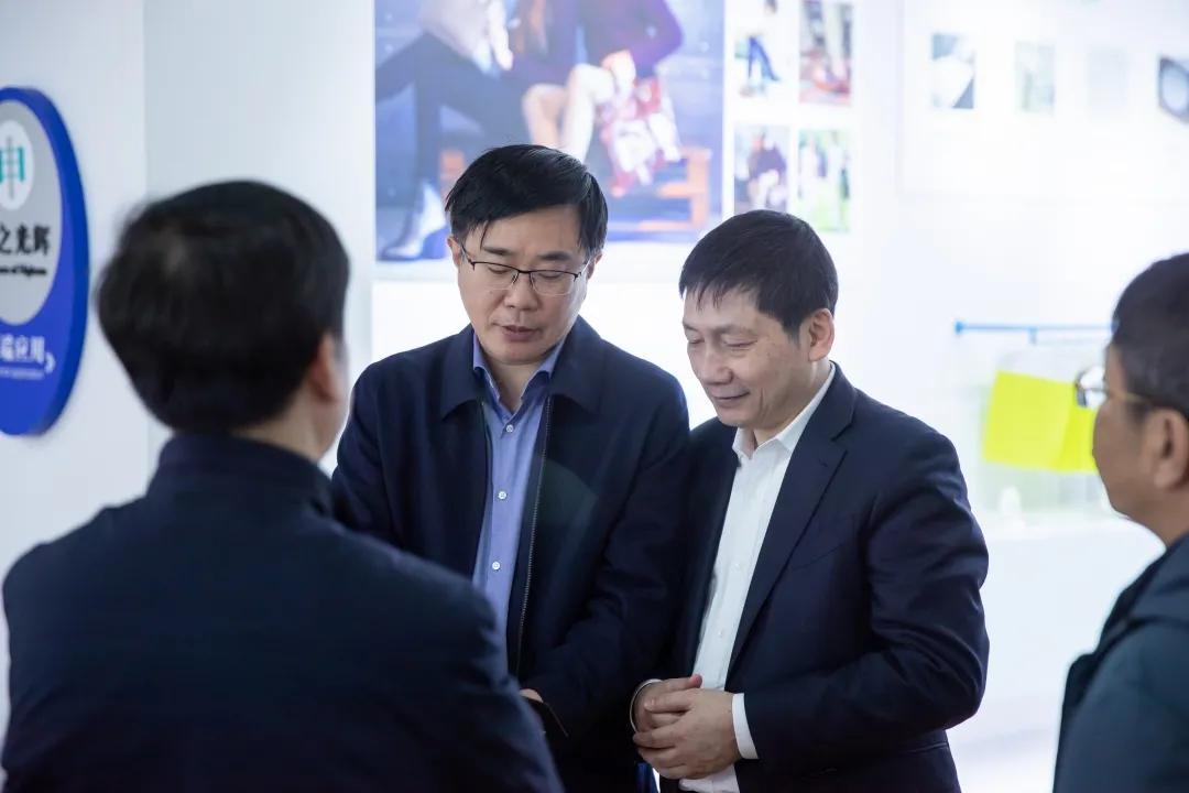 福州市委副书记林飞一行至恒申集团调研企业开工情况