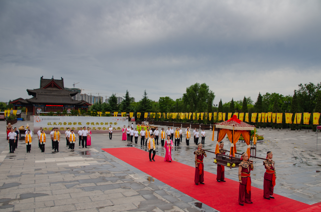 大槐树寻根祭祖园中元节进行祭祖习俗展示与传承
