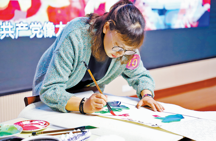 信阳市第三届中小学班主任基本功展示活动举行